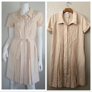 Celine silk pleated dress